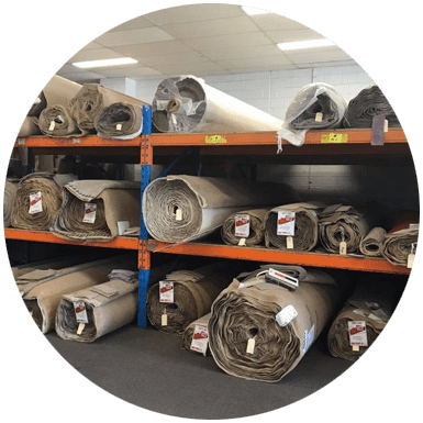 We buy our carpet in bulk and negotiate the lowest prices with manufacturers. This keeps our prices low and the savings get passed on to you!